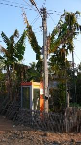 Telefooncellen zijn nauwelijks meer nodig; de meeste Thai hebben een mobiele telefoon.