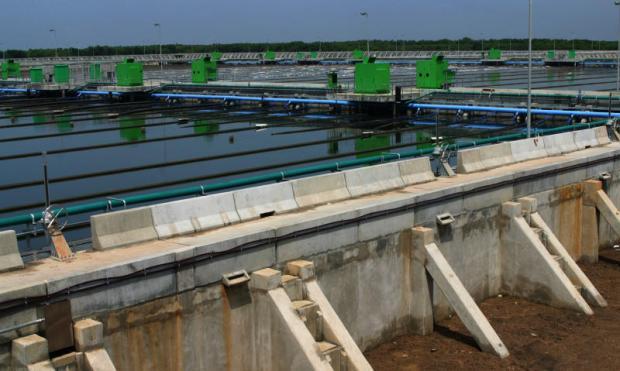 Khlong Dan waste water treatment project aka Klong Dan