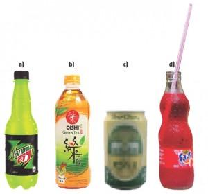 Vier drankjes