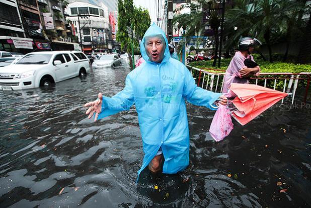 Wateroverlast Bangkok