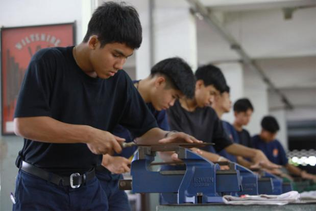 Don Muang Technical college 6 uur per week vijlen