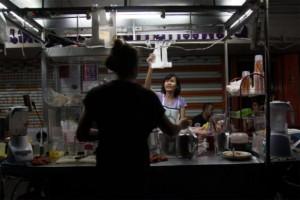Straatverkoper Lat Phrao