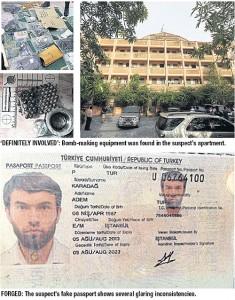 Bomaanslag Ratchaprasong appartementengebouw plus in beslag genomen spullen