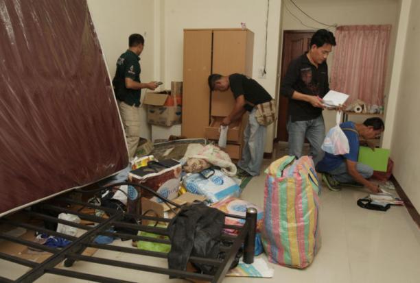 Bomaanslag Ratchaprasong huiszoeking Min Buri