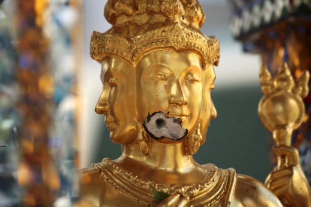 Brahma beschadigd