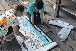 Khlong clean-up housing survey door Codi