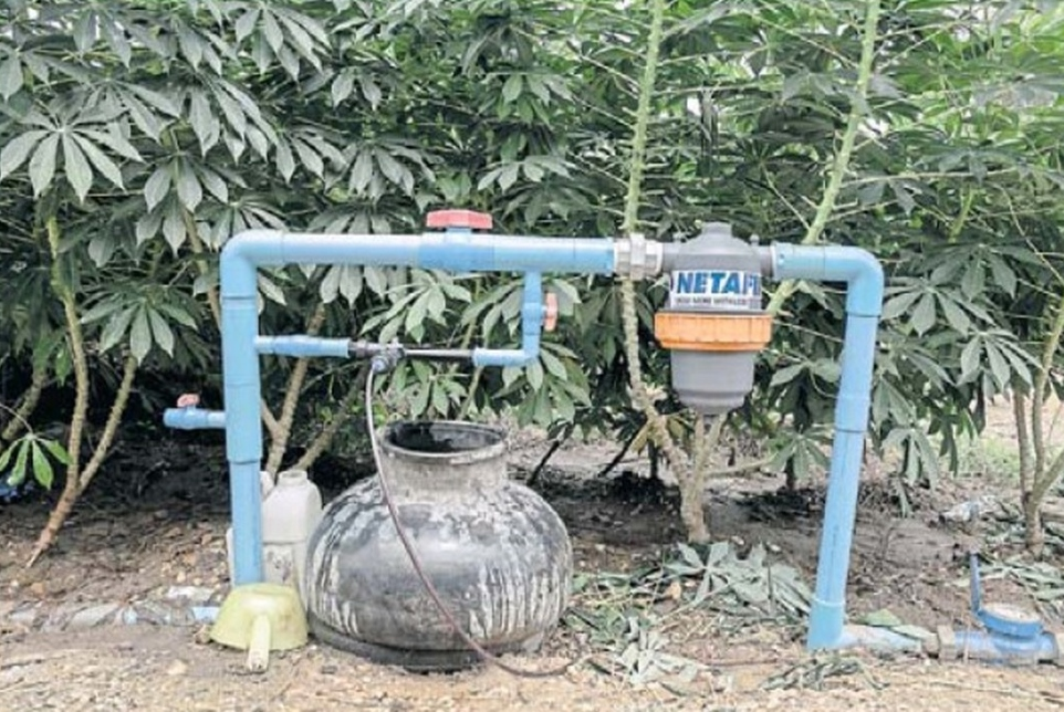 Perng's irrigation pump