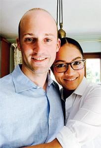 Sunisa Noonpakdee met partner