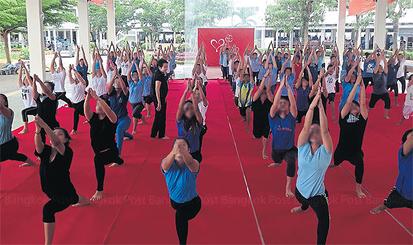 Yoga klas Ratchaburi gevangenis
