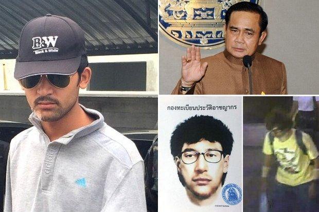 Bomaanslag Ratchaprasong foto-collage