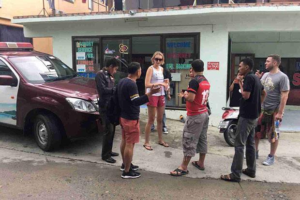Afpersing Russische toeristen op Koh Phangan