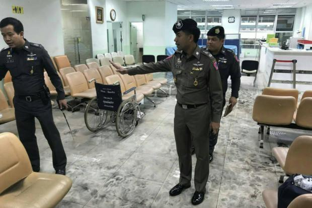 Bomaanslag legerziekenhuis