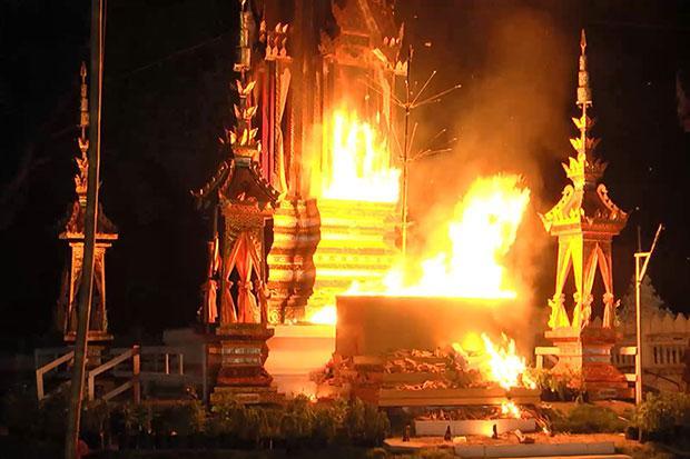 Crematie van lege lijkkist