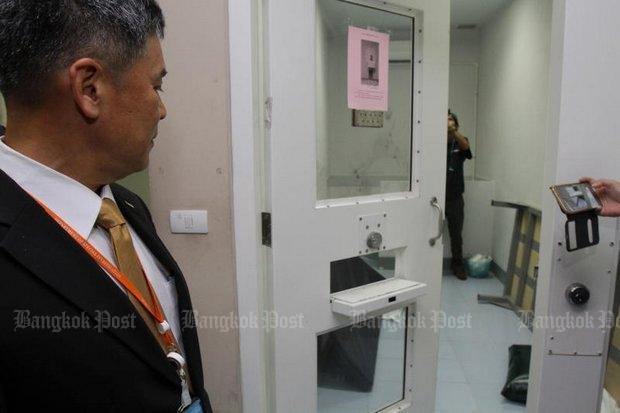 De cel waarin Thawatchai zichzelf zou hebben opgehangen