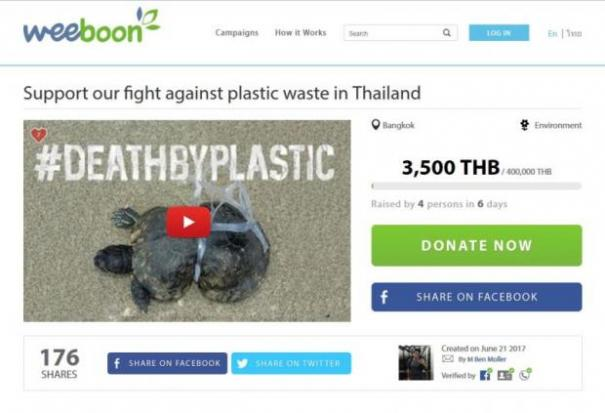 #Death by plastic