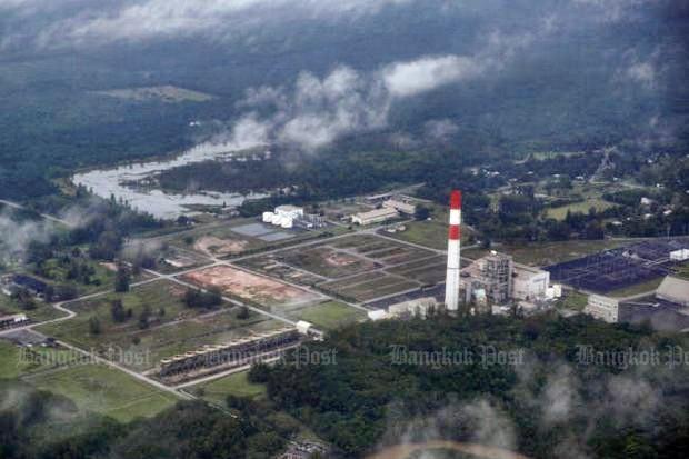 Elektriciteitscentrale in Krabi
