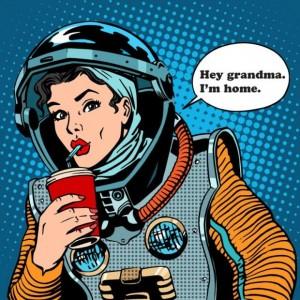 Guru Hey grandma I'm home