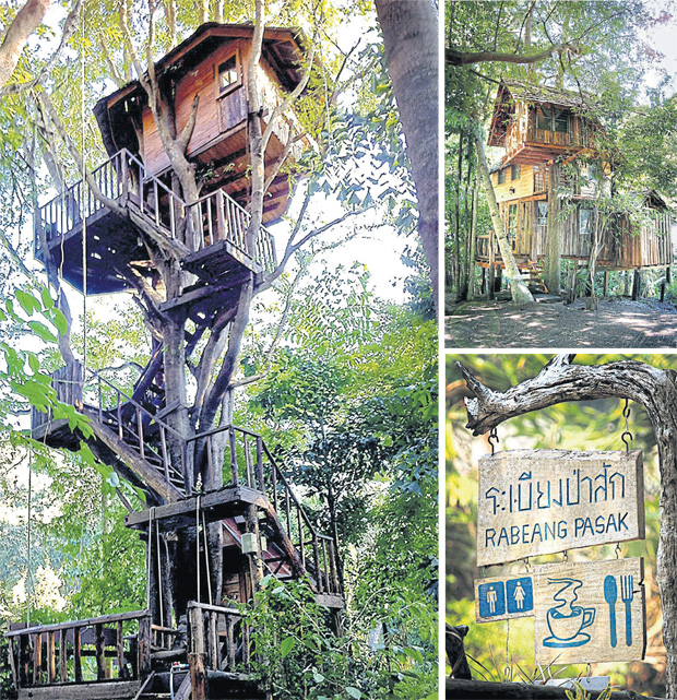 Guru Rabeang Pasak Treehouse Resort