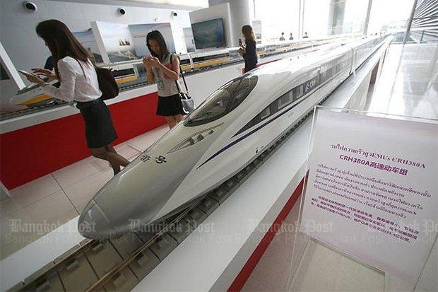 Hogesnelheidslijn BKK-Hua Hin diverse modellen