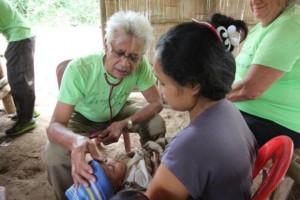 Jungle Aid Gerard Smit aan het werk