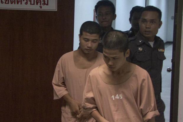 Koh Tao moorden De twee veroordeelde gastarbeiders