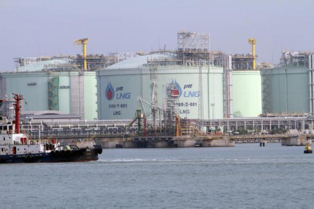 LNG terminal van PTT in Map Tha Phut