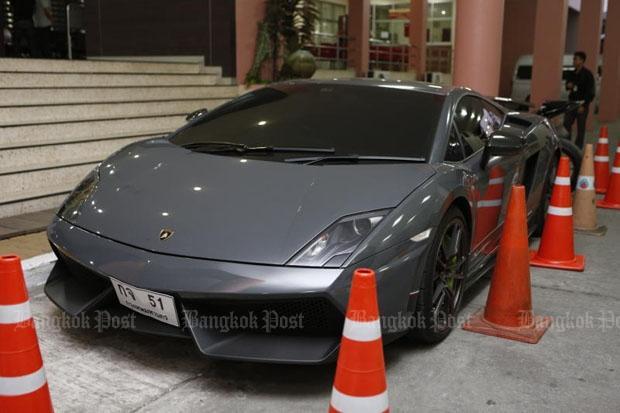Lamborghini wordt geveild
