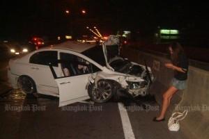 Ongeluk tolweg met Orachon