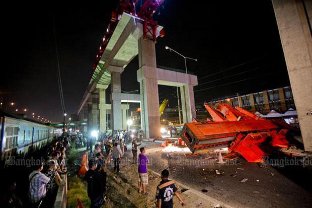 Red Line Kraan gevallen, drie doden