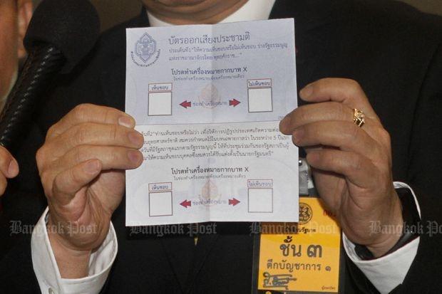 Referendum stembiljet