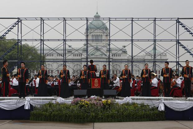 Repetitie Royal Thai Army band