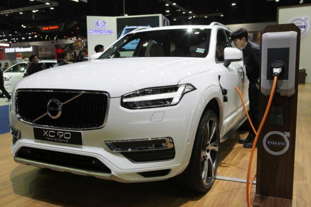 Volvo XC90 plug-in hybrid op de Bangkok International Motor Show 2017