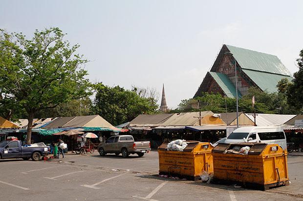 Wihan Luang Phor Phramongkhon Bobhit in Ayutthaya