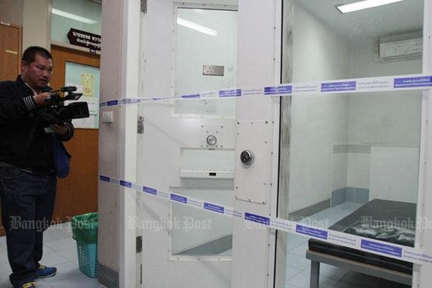 DSI cel waar Thawatchai was opgesloten