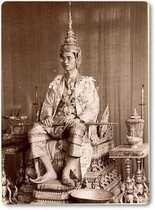 Kroning koning Bhumibol