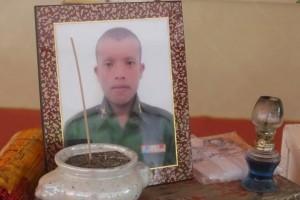 Dood geslagen rekruut in Yala
