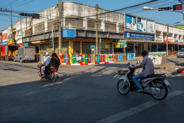 Yala Ruam Mit Road straathoek