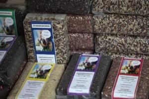 Organische rijst van de U-Thong Farmer Promotion Group
