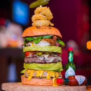 25 Degrees Mansion Burger