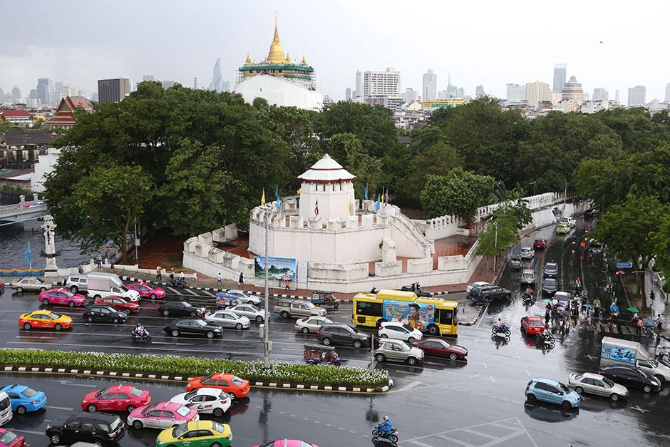 Mahakan Fort - eindelijk een goeie overzichtsfoto