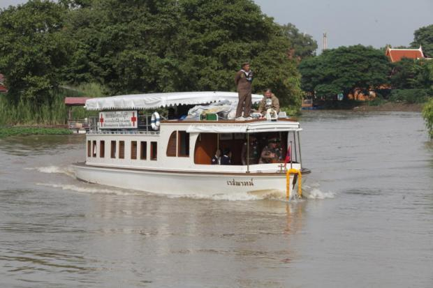 De Vejapah op de Tha Chin rivier