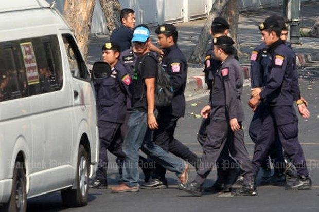 Arrestatie leiders kolenprotest