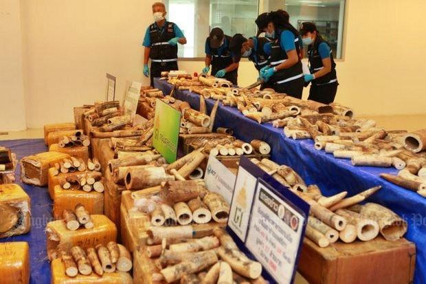 330 kilo ivoor uit Malawi onderschept
