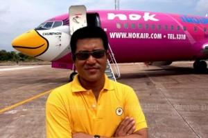 Directeur Patee van Nok Air