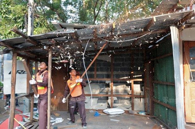 Mahakan Fort sloop maandag van vier huizen