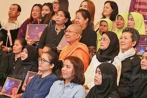 Onderscheiding voor vrouwen activisten