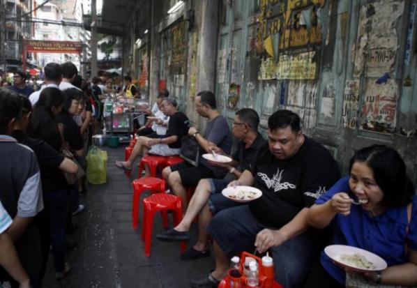 Eten op straat wordt een zeldzaamheid