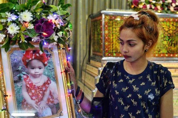Jiranuch Trirat, mother of 11-month-old daughter Natalie