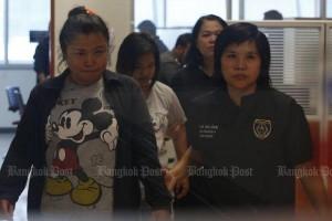 Mae Hong Son Agent begeleidt twee pooiers
