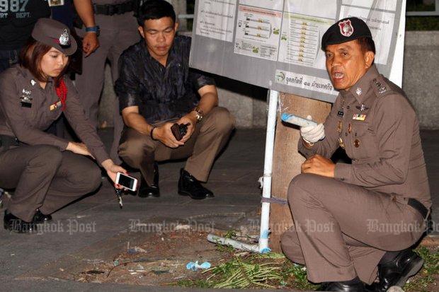 Bomexplosie bij Nationaal Theater